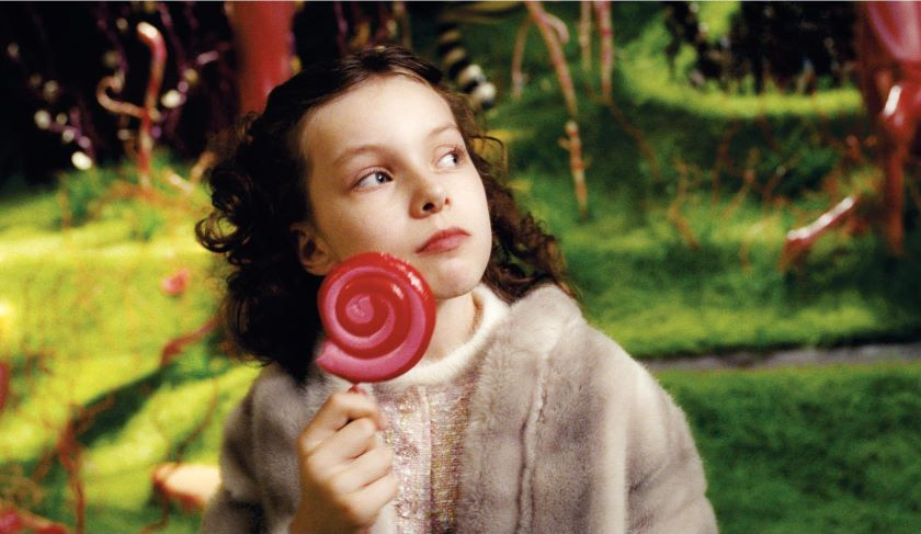 charlie and the chocolate factory pictures from the movie charlie and the chocolate factory picture 19 medium shot of julia winter as veruca