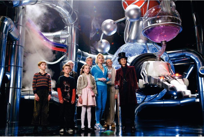 Charlie and the Chocolate Factory Pictures from the Movie