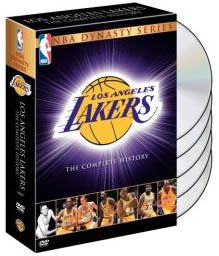 DVD Review: NBA Dynasty Series, Los Angeles Lakers The Complete History
